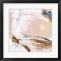 Salt Flat Tracks IV Framed Print