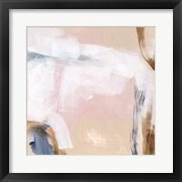 Salt Flat Tracks V Framed Print