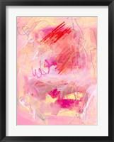 Chroma Pink I Framed Print