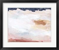 Dusk Clouds II Framed Print