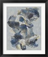 Crystal & Stone I Framed Print