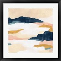 Dusk Plains I Framed Print