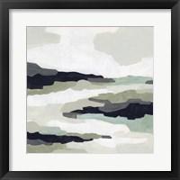 Mint Mesa II Framed Print