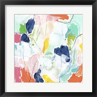 Impasto Kaleidoscope I Framed Print