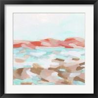 Coral Coast I Framed Print