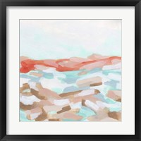 Coral Coast II Framed Print