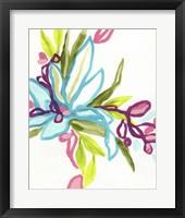 Tropical Sketch I Framed Print