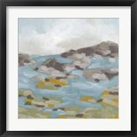Stone Shore II Framed Print