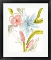 Floral Sonata II Framed Print