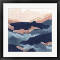 Bluescape I Framed Print