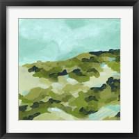 Spring Hillside II Framed Print