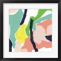 Color Current IV Framed Print