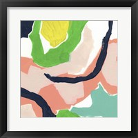 Color Current VI Framed Print