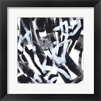Onyx Code V Framed Print