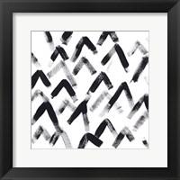 Onyx Code VI Framed Print