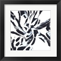 Onyx Code VII Framed Print