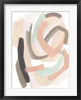 Pastel Signal I Framed Print