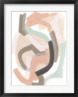 Pastel Signal II Framed Print