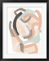 Pastel Signal III Framed Print