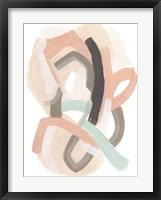 Pastel Signal IV Framed Print