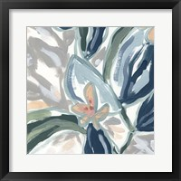 Expressive Garden III Framed Print