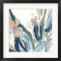 Expressive Garden IV Framed Print