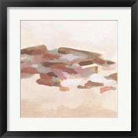 Rose Coast I Framed Print