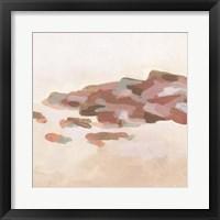 Rose Coast II Framed Print