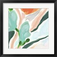 Primal Flora III Framed Print