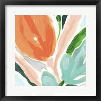 Primal Flora IV Framed Print