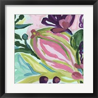 Tropic Expression III Framed Print