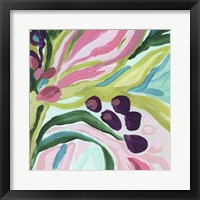 Tropic Expression IV Framed Print