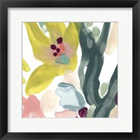 Tropical Impulse I Framed Print