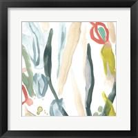 Tropical Impulse II Framed Print