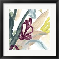 Tropical Impulse III Framed Print