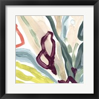 Tropical Impulse IV Framed Print
