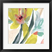 Tropical Impulse VI Framed Print