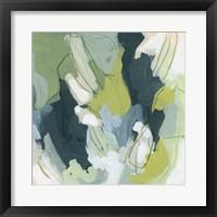 Emerald Storm I Framed Print