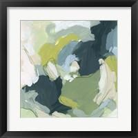 Emerald Storm II Framed Print