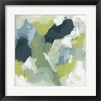 Emerald Storm III Framed Print