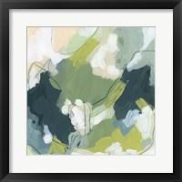 Emerald Storm IV Framed Print