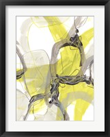 Cement Citron II Framed Print