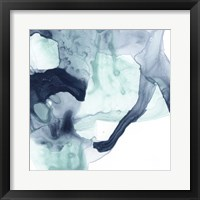 Blue Cavern III Framed Print