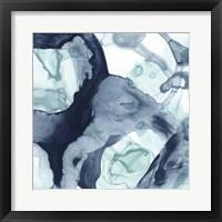 Blue Cavern V Framed Print