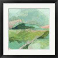 Mint Valley I Framed Print