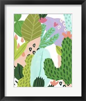 Party Plants II Framed Print