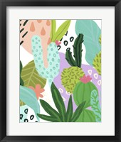Party Plants III Framed Print