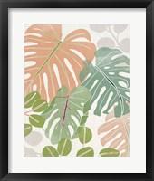 Sherbet Tropical II Framed Print