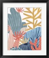 Paper Reef I Framed Print