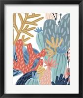 Paper Reef II Framed Print